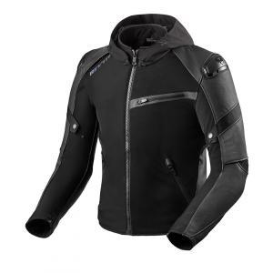 Bunda na motorku Revit Target H2O černá výprodej