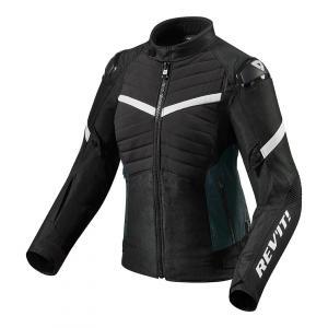 Dámská bunda na motorku Revit Arc H2O-černo-bílá