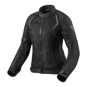 Dámská bunda na motorku Revit Torque černá výprodej