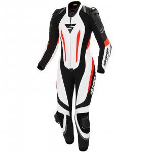 Dámská jednodílná kombinéza Shima Miura RS bílo-černo-fluo červená