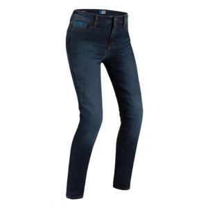 Dámské jeansy na motorku PMJ Caferacer Legend tmavě modré