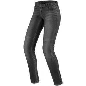 Dámské jeansy na motorku Revit Westwood SF šedé výprodej