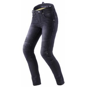 Dámské jeansy na motorku Street Racer Spike II CE černé