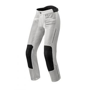 Dámské kalhoty na motorku Revit Airwave 3 stříbrné