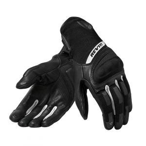 Dámské rukavice na motorku Revit Striker 3 černo-bílé výprodej