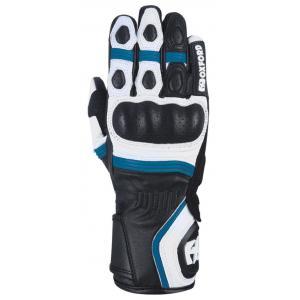 Dámské rukavice Oxford RP-5 2.0 bílo-černo-modré