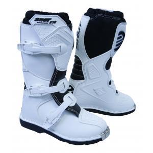Dětské boty na motorku Shot K10 bílé