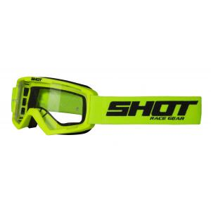 Dětské motokrosové brýle Shot Rocket fluo žluté