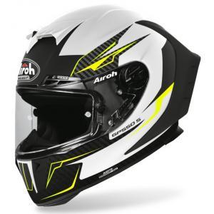 Integrální přilba Airoh GP 550S Venon bílo-černo-fluo žlutá výprodej