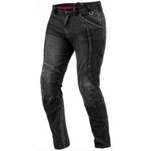 Jeansy na motorku Shima Ghost černé výprodej
