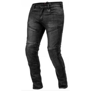 Jeansy na motorku Shima Gravel 3 černé výprodej