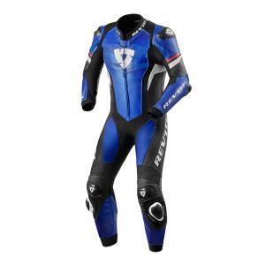 Jednodílná kombinéza na motorku Revit Hyperspeed modro-černá