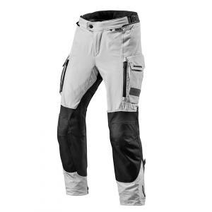 Kalhoty na motorku Revit Offtrack černo-stříbrné