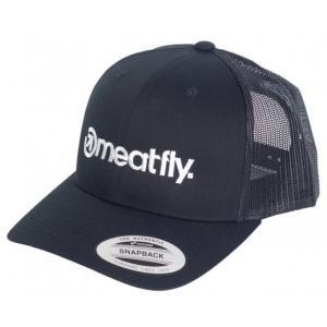 Kšiltovka Meatfly Logo Trucker Yupoong černá