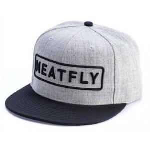 Kšiltovka Meatfly Spon šedá