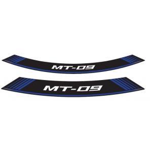 Linka na ráfek PUIG MT-09 9135A modrá linky na ráfek - sada 8ks výprodej
