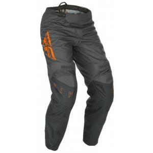 Motokrosové kalhoty FLY Racing F-16 2021 šedo-oranžové