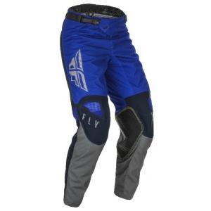 Motokrosové kalhoty FLY Racing Kinetic K121 2021 modro-šedé