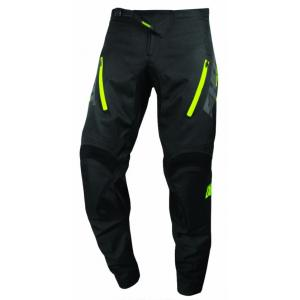 Motokrosové kalhoty Shot Climatic černo-fluo žluté