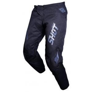 Motokrosové kalhoty Shot Contact Zip černé
