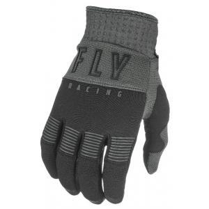 Motokrosové rukavice FLY Racing F-16 2021 černo-šedé