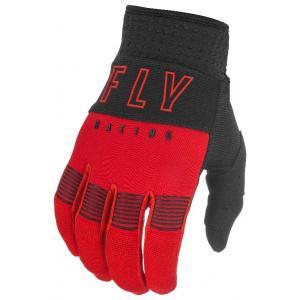 Motokrosové rukavice FLY Racing F-16 2021 červeno-černé