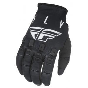 Motokrosové rukavice FLY Racing Kinetic K121 černo-bílé
