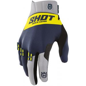 Motokrosové rukavice Shot Aerolite Husqvarna