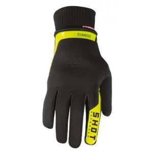 Motokrosové rukavice Shot Climatic 2.0. černo-fluo žluté výprodej