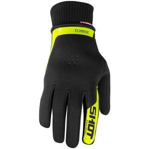 Motokrosové rukavice Shot Climatic černo-fluo žluté