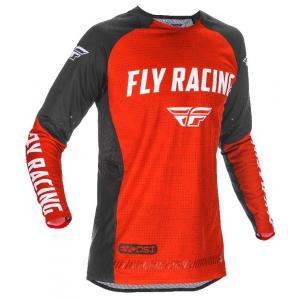 Motokrosový dres FLY Racing Evolution 2021 červeno-černo-bílý výprodej
