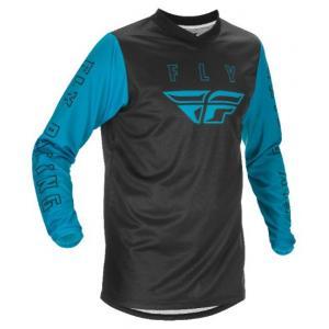 Motokrosový dres FLY Racing F-16 2021 modro-černý