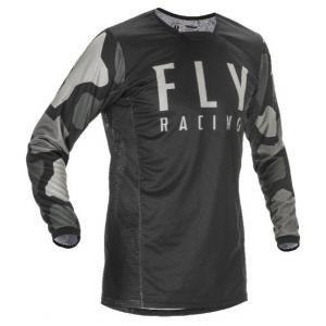 Motokrosový dres FLY Racing Kinetic K221 2021 černo-šedý