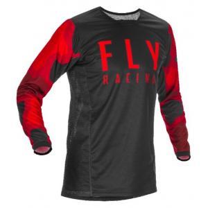 Motokrosový dres FLY Racing Kinetic K221 2021 červeno-černý