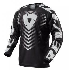 Motokrosový dres Revit Rough černo-bílý