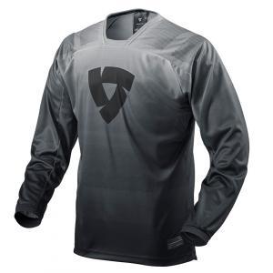 Motokrosový dres Revit Scramble černo-bílý