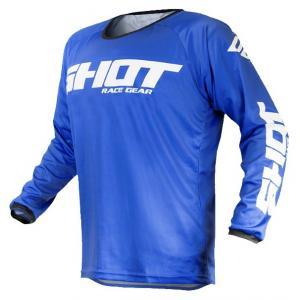 Motokrosový dres Shot Devo Raw modrý