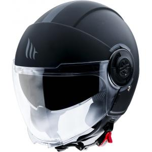 Otevřená přilba na motorku MT Viale černá matná
