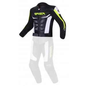 Pánská bunda RSA Blade černo-bílo-fluo žlutá