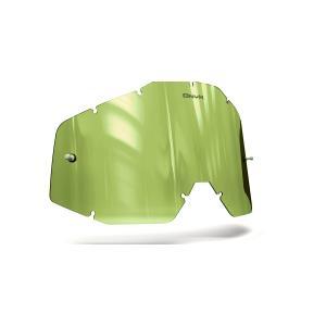 Plexi Onyx pro motokrosové brýle 100% Racecraft/Accuri/Strata (Hi-Vis žluté s polarizací) výprodej