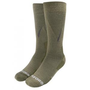 Ponožky Oxford Merino khaki zelené
