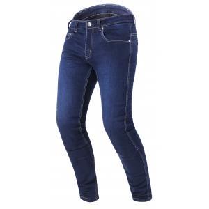 Prodloužené jeansy na motorku RSA Route CE modré