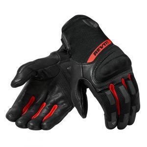 Rukavice na motorku Revit Striker 3 černo-červené výprodej