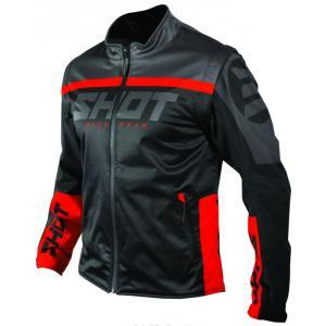 Softshellová bunda Shot Lite černo-červená výprodej