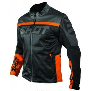 Softshellová bunda Shot Lite černo-oranžová výprodej