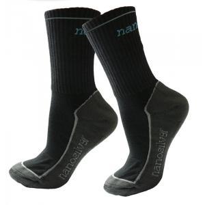 Termo ponožky nanosilver® černé