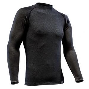 Termo triko nanosilver® Raglan antracitově šedé - dlouhý rukáv