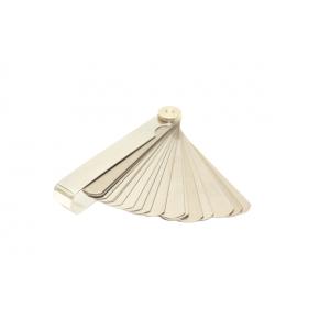 Thickness gauge MOTION STUFF 25 sizes 0,04 – 1,00mm výprodej