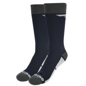 Voděodolné ponožky Oxford s klimatickou membránou černé