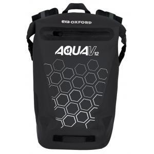 Vodotěsný batoh Oxford AQUA V12 černý 12 l
